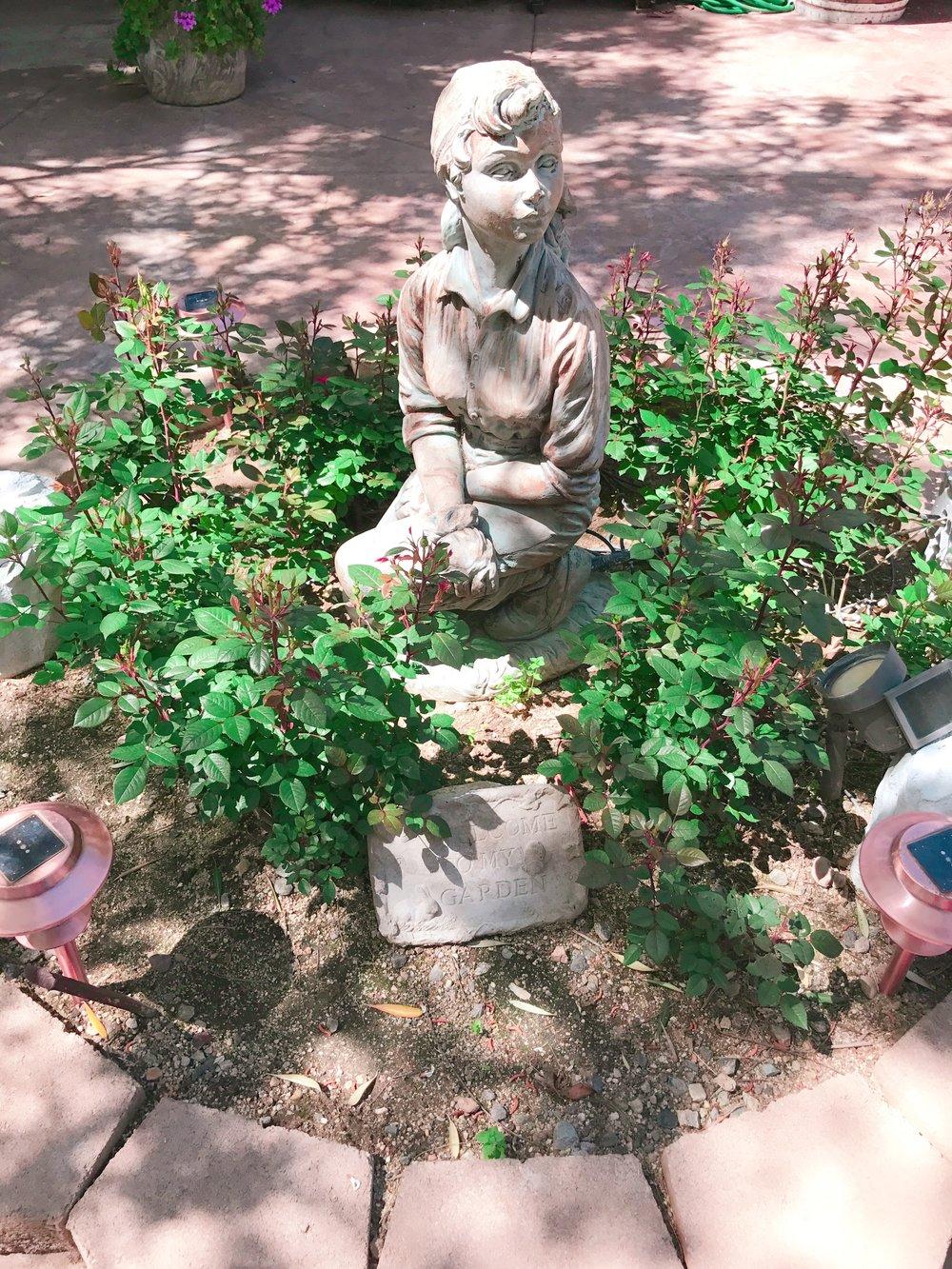 Cinderella Statue