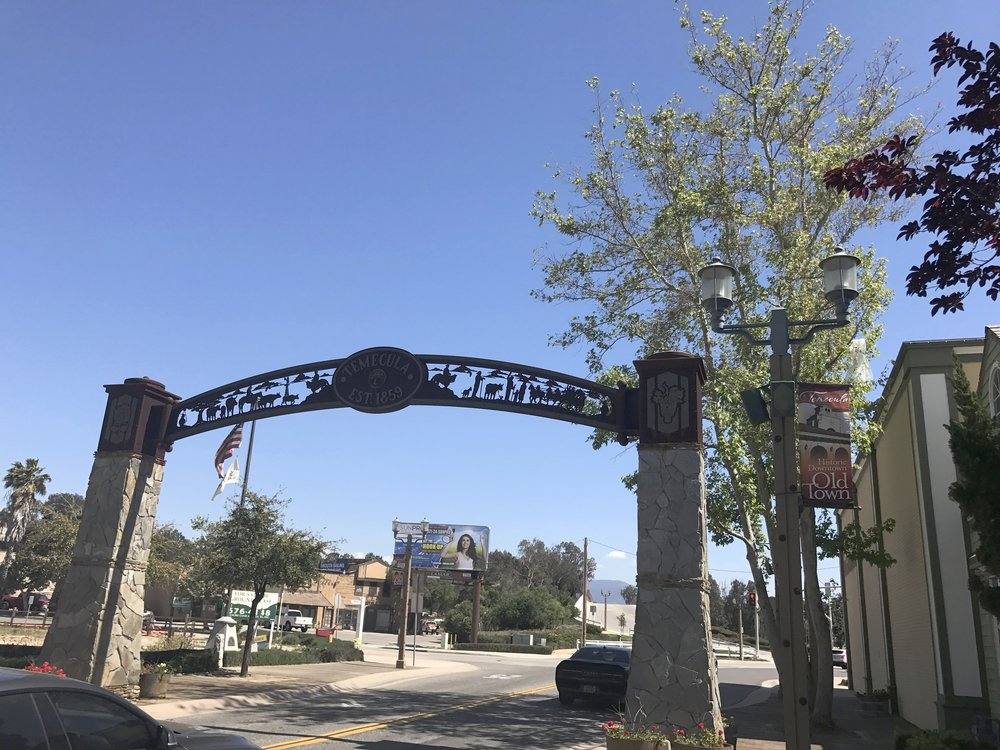 Enterance to Old Town Temecula