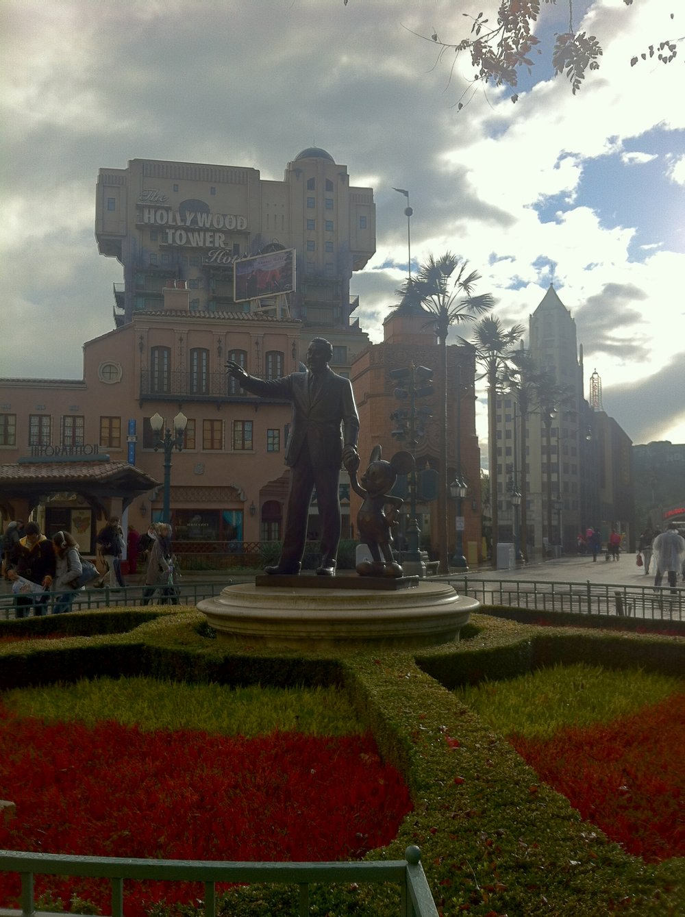 Walt and Mickey Statue