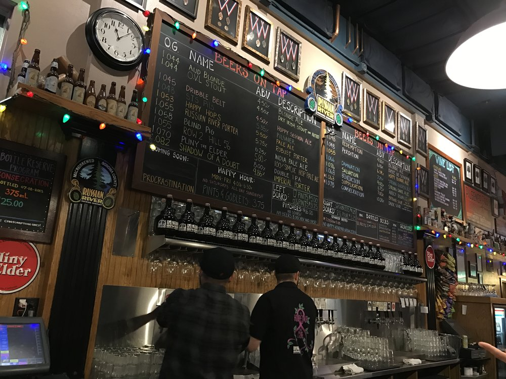 Russian River Brewery Board