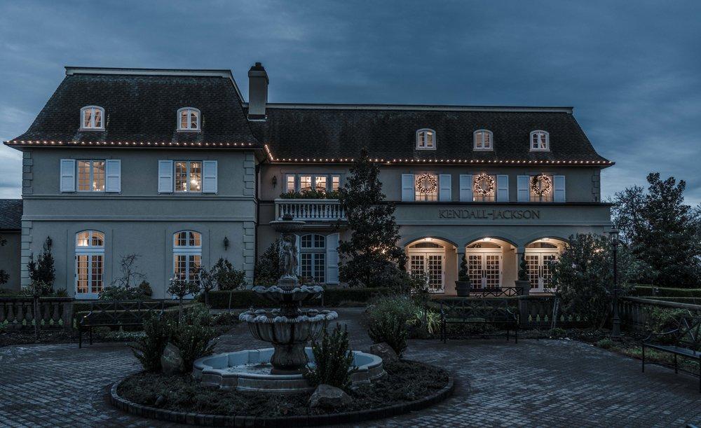 Night approaching Kendall-Jackson Winery