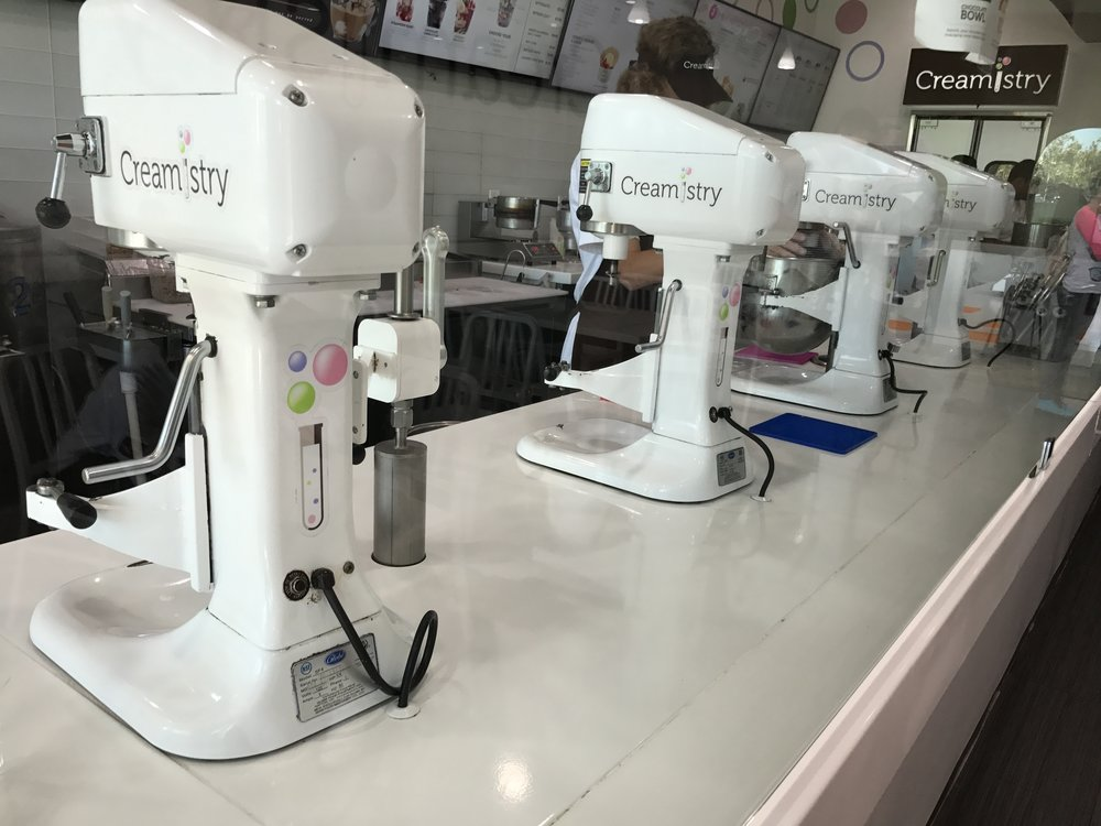 Creamistry Machines Temecula
