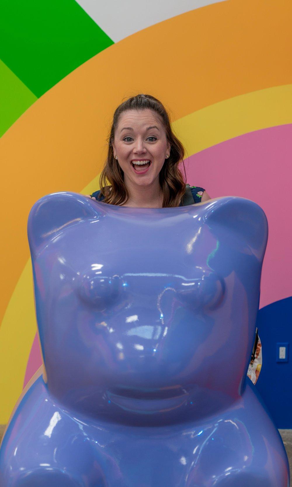 Giant Gummy Bear - Museum of Ice Cream