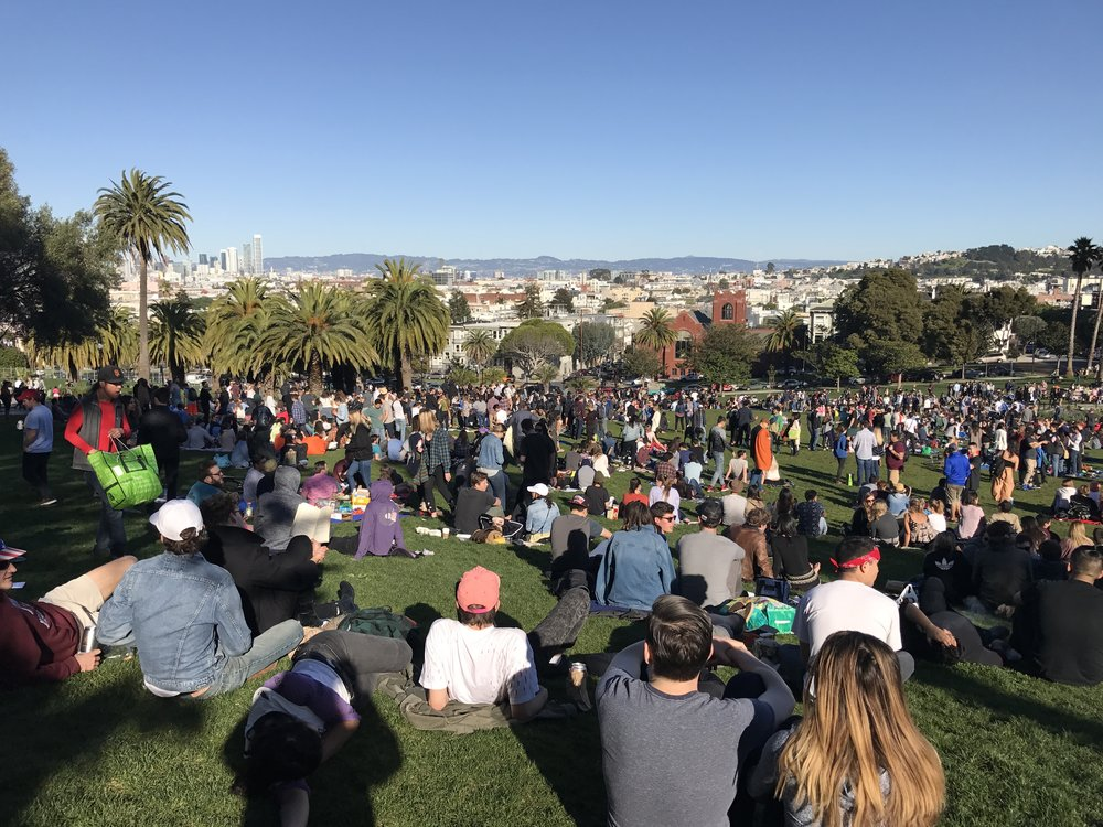 Views from Delores Park
