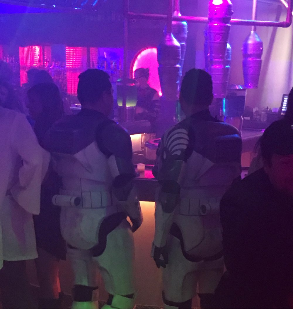 2 storm troopers walk into a bar...