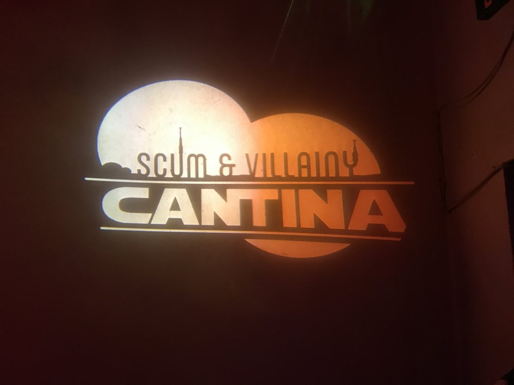 Scum & Villainy Cantina - Star Wars Bar - Wandering Jokas Travel Blog