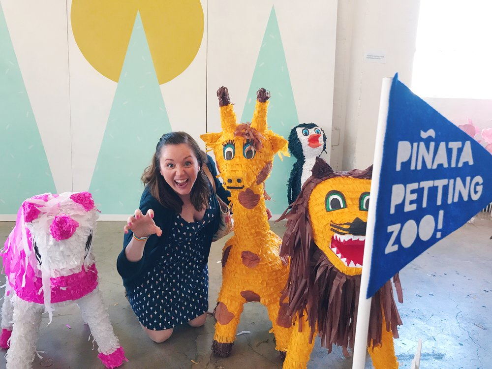 Pinata Petting Zoo - Wandering Jokas Travel and Ice Cream Blog
