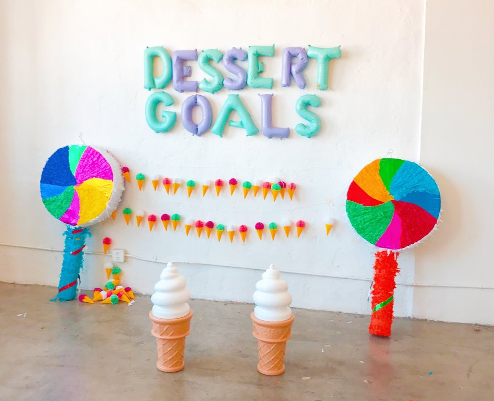Dessert Goals - Ice Cream Blog Post