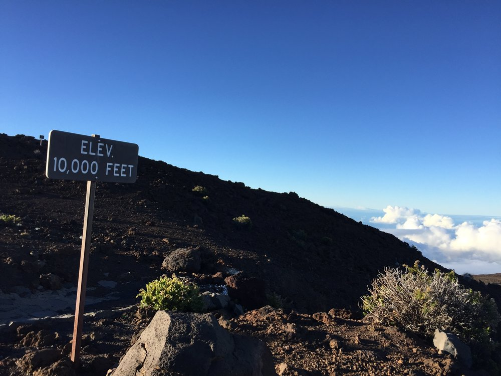 Haleakala 10K feet - Wandering Jokas Travel & Ice Cream Blog