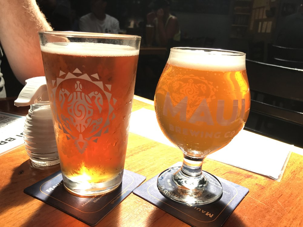 Maui Brew Co Brewpub - Wandering Jokas Travel & Ice Cream Blog