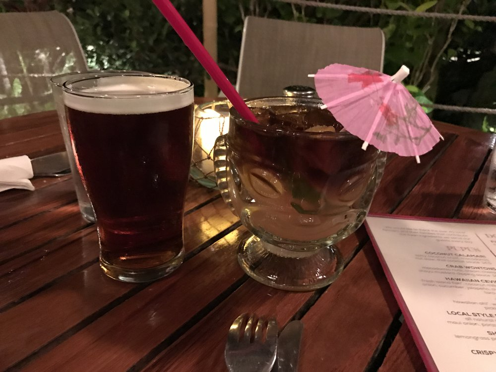Tiki Drinks Mai Tai Maui - Wandering Jokas Travel & Ice Cream Blog