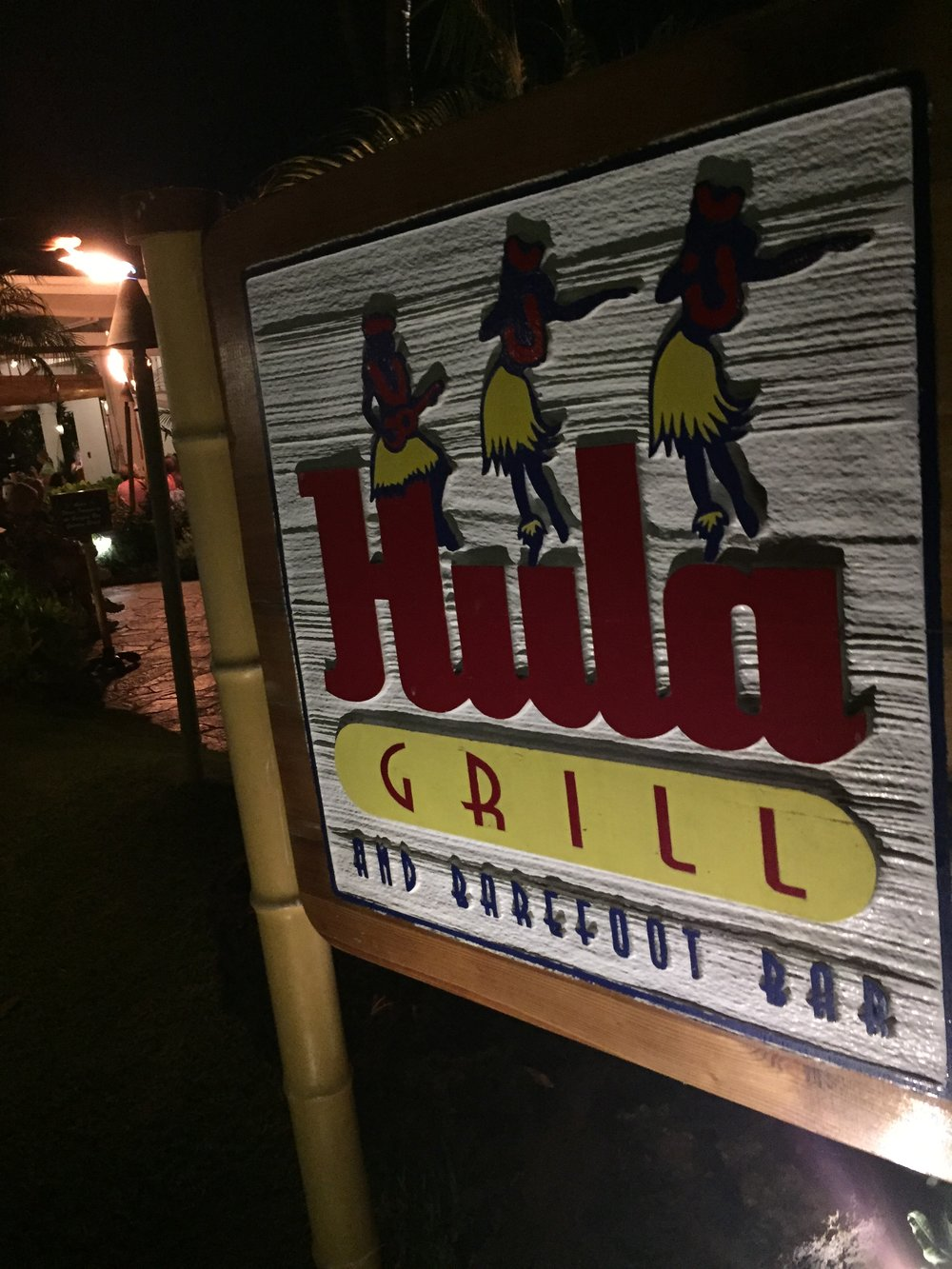 Hula Grill & barefoot bar Maui - Wandering Jokas Travel & Ice Cream Blog