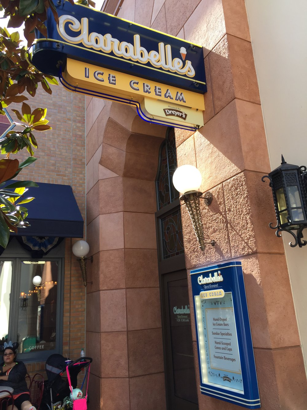 Clarabelle's Ice Cream Parlour - California Adventure - Wandering Jokas Travel & Ice Cream Blog
