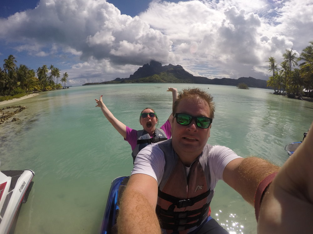 jet skis in Bora Bora - what to do in Bora Bora - Wandering jokas Travel & Ice Cream Blog