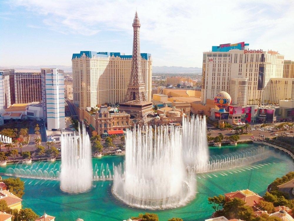 Vegas Bellagio Fountains