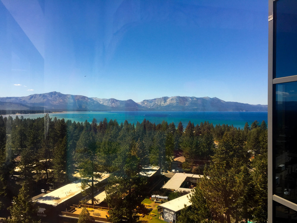 Lake Tahoe View from Harvey's Room