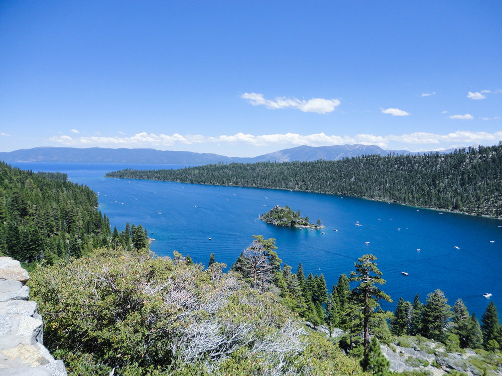 Emerald Bay and Fannette Island