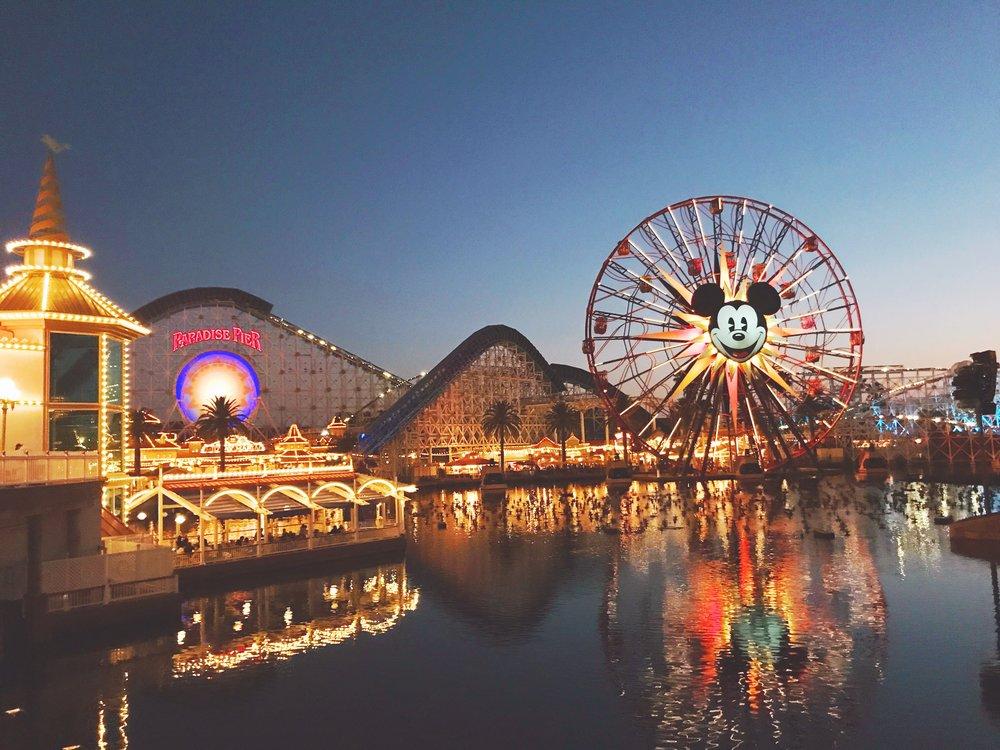 California Adventure Ferris Wheel Halloween