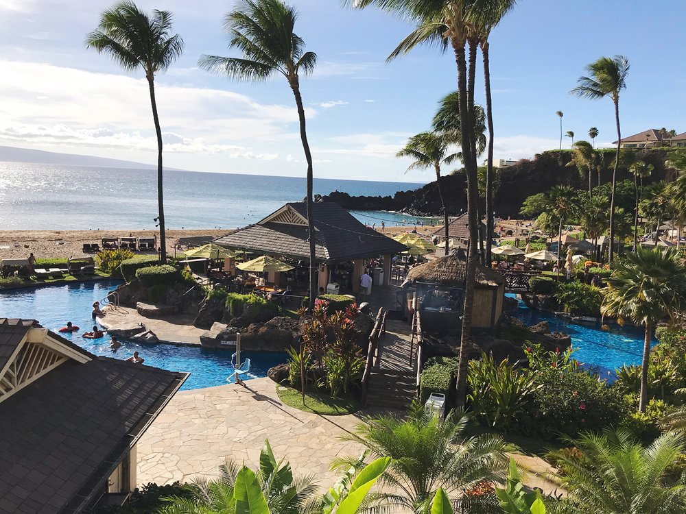 Pool Views at the Sheraton Maui