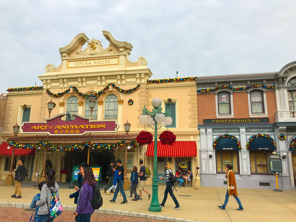 Hong Kong Disneyland Main Street Opera House