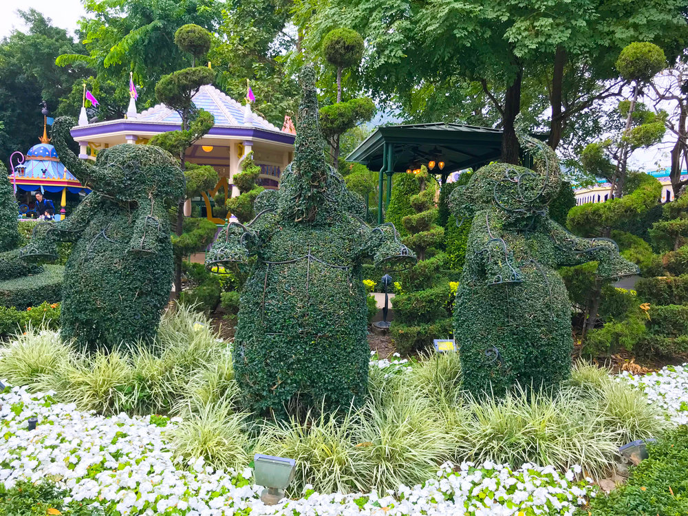 Hong Kong Disneyland Fantasyland Fantasia Garden