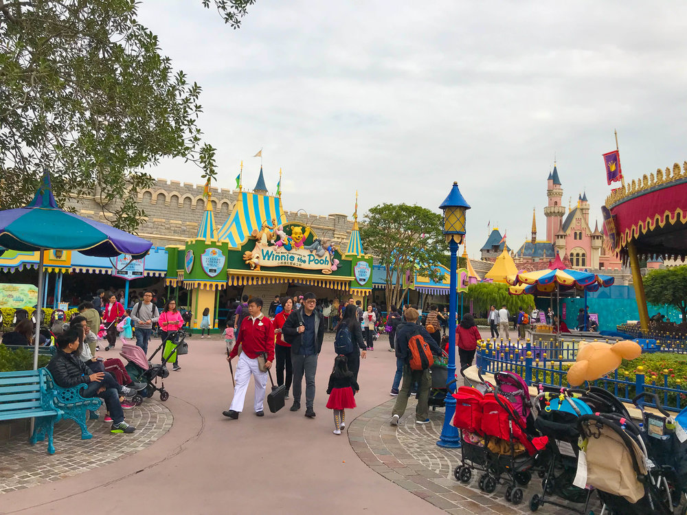 Hong Kong Disneyland Fantasyland Winnie the Pooh