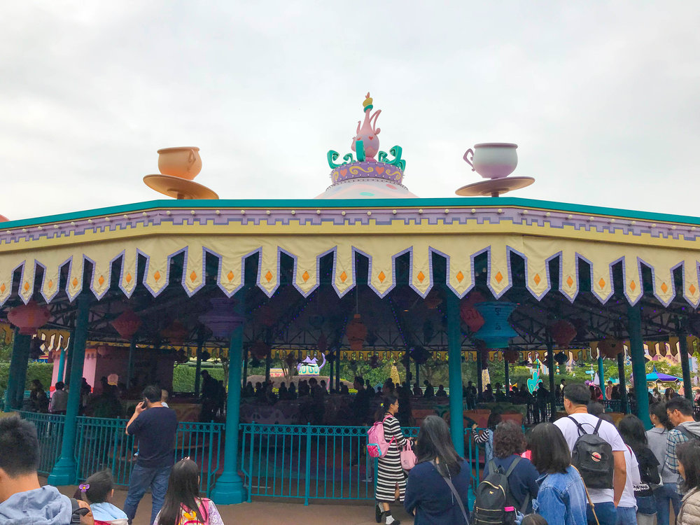 Hong Kong Disneyland Fantasyland Tea Cups