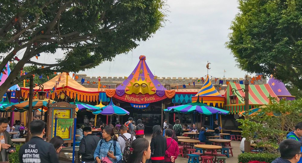 Hong Kong Disneyland Fantasyland Festival of Foods