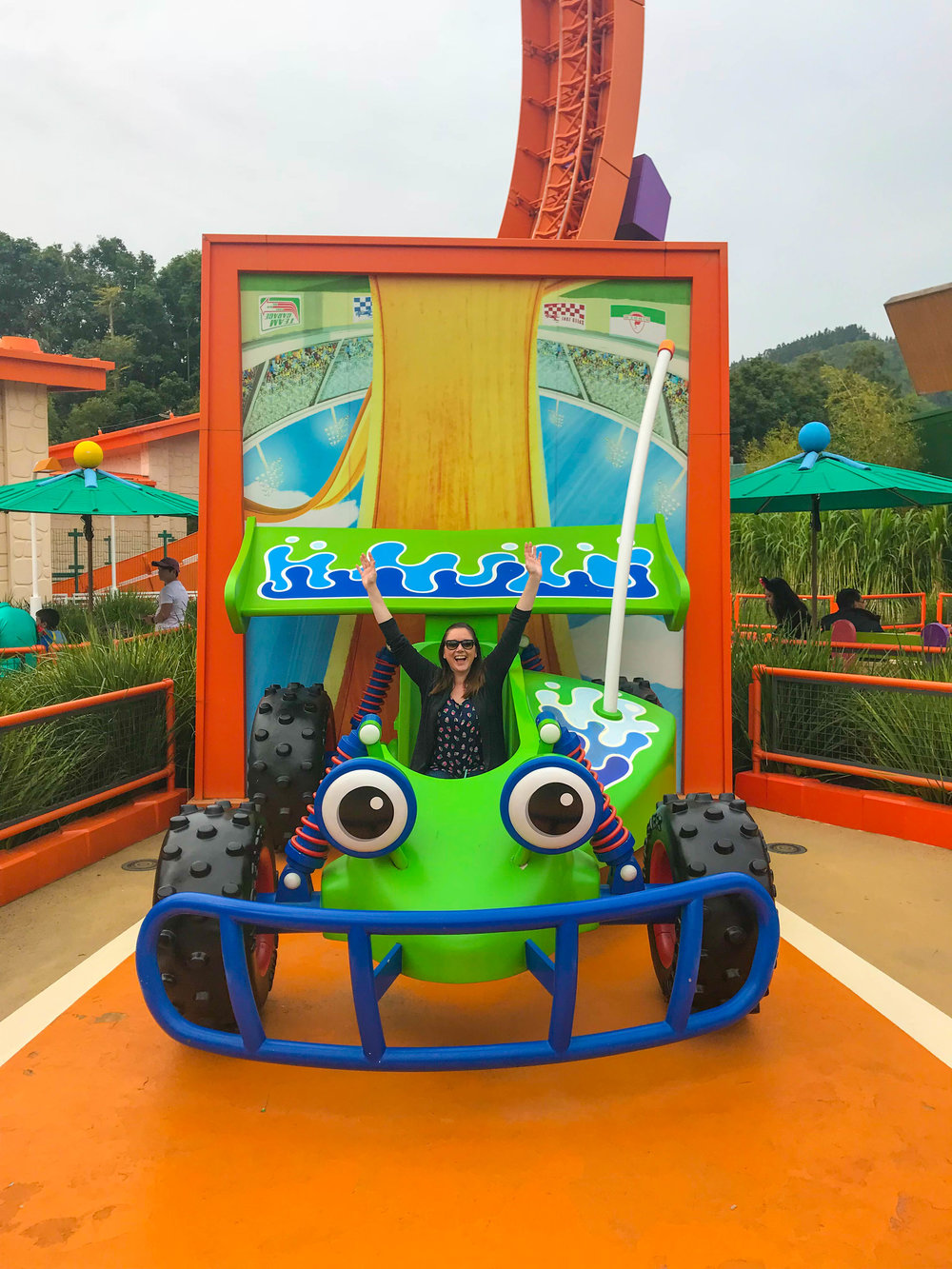 Toy Story Land RC Race Car