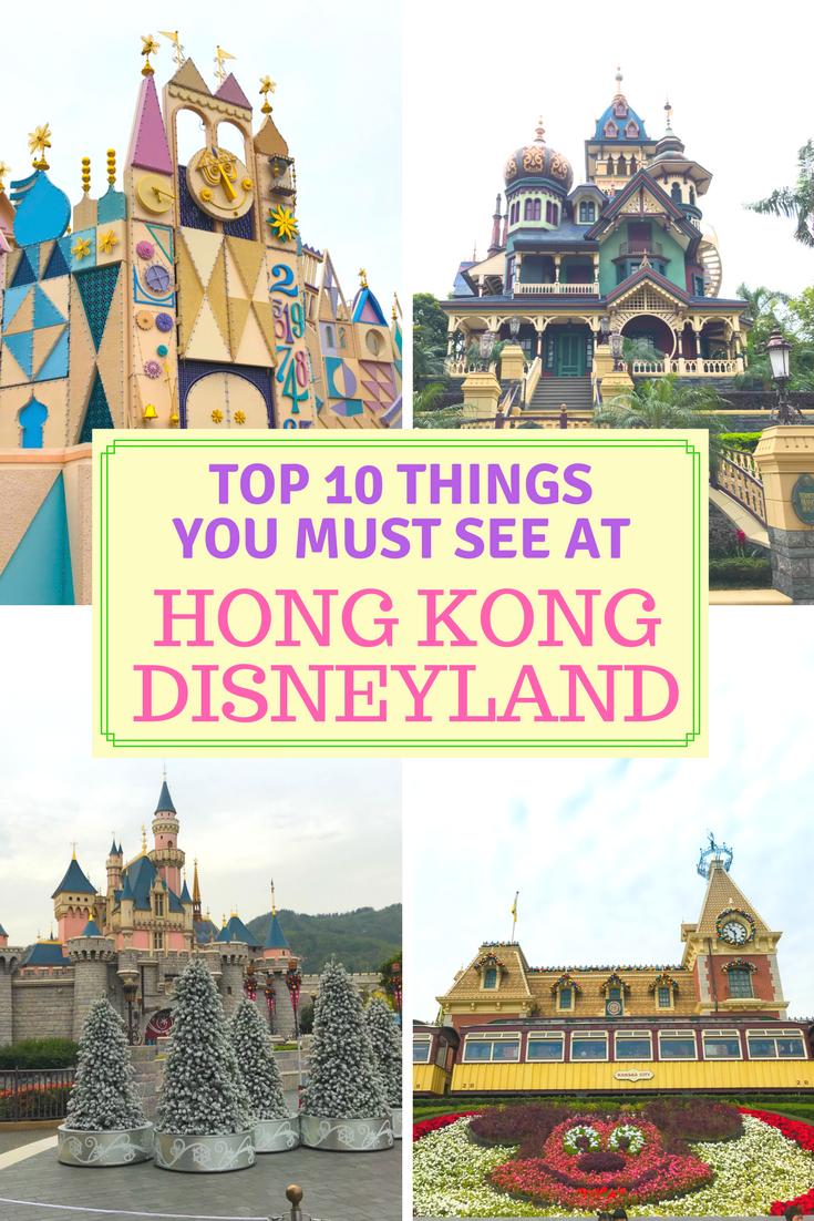 10 Things You Must See at Hong Kong Disneyland
