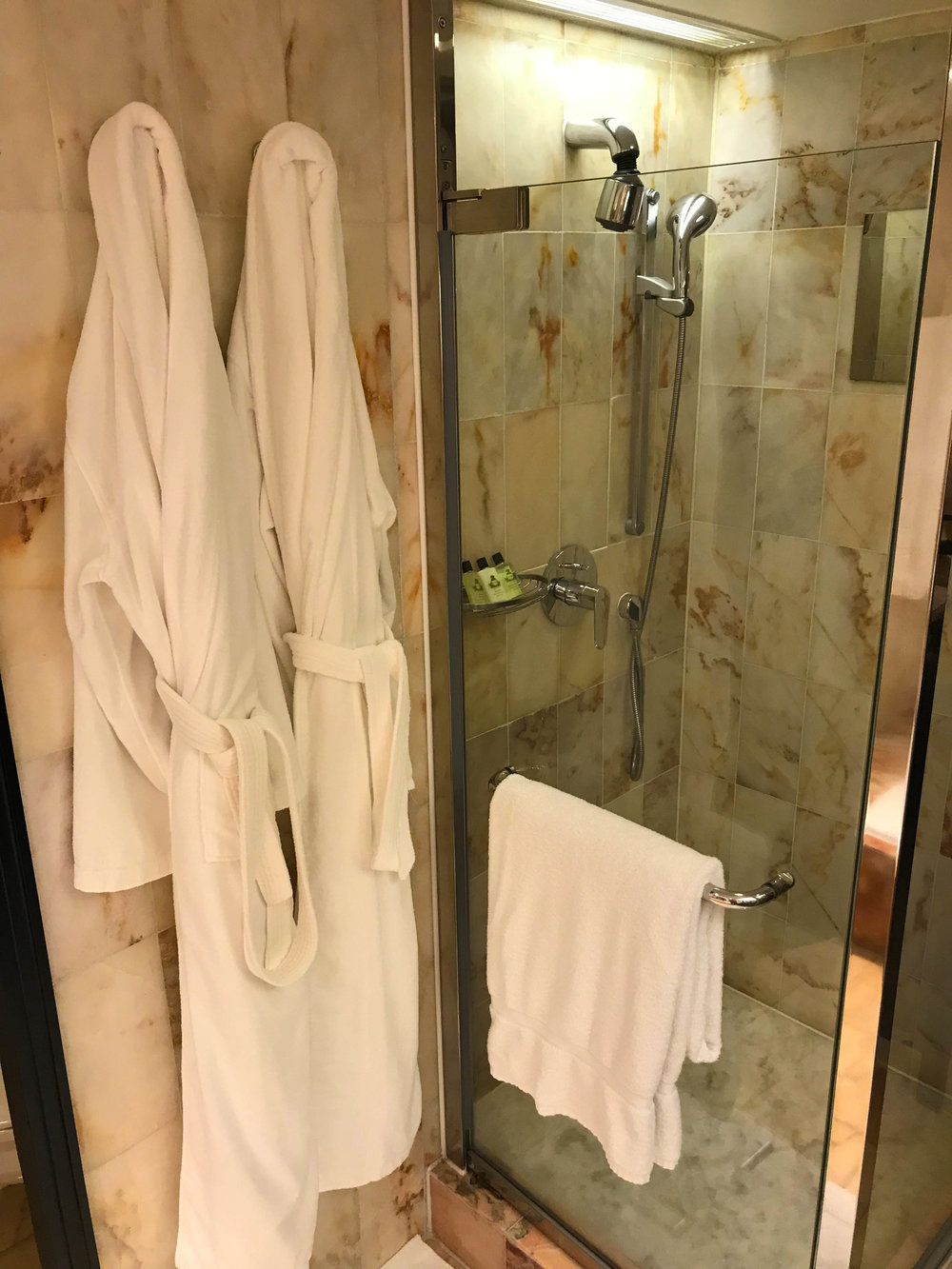 Hong Kong InterContinental Bathroom Robes - Bathroom design