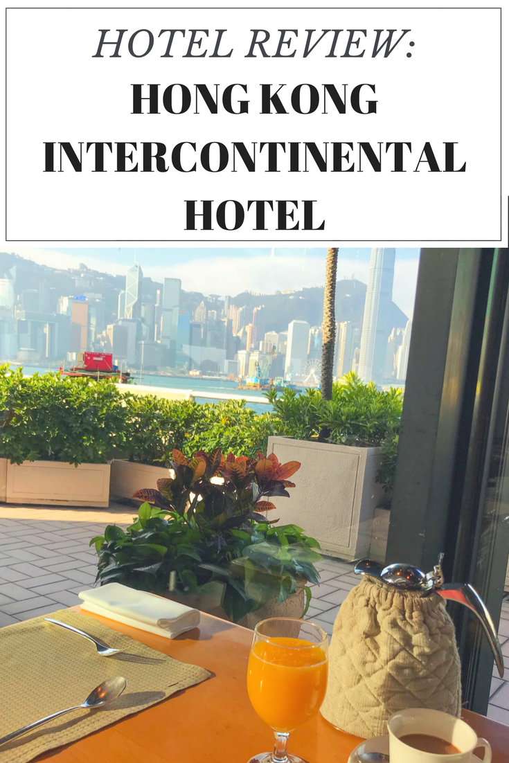 Hong Kong InterContinental Hotel Review - Best hotel in Hong Kong