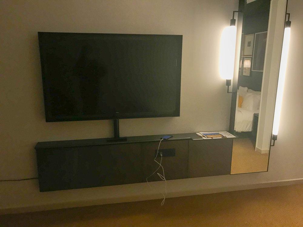 Park MGM TV Setup