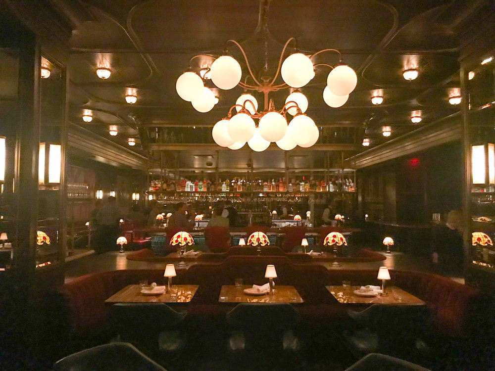 Park MGM Bavette's Steakhouse and bar