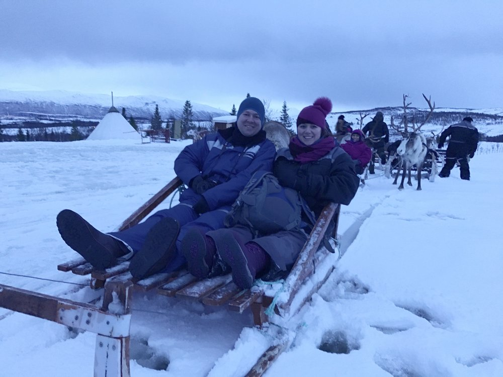Reindeer Sleigh Rides in Norway