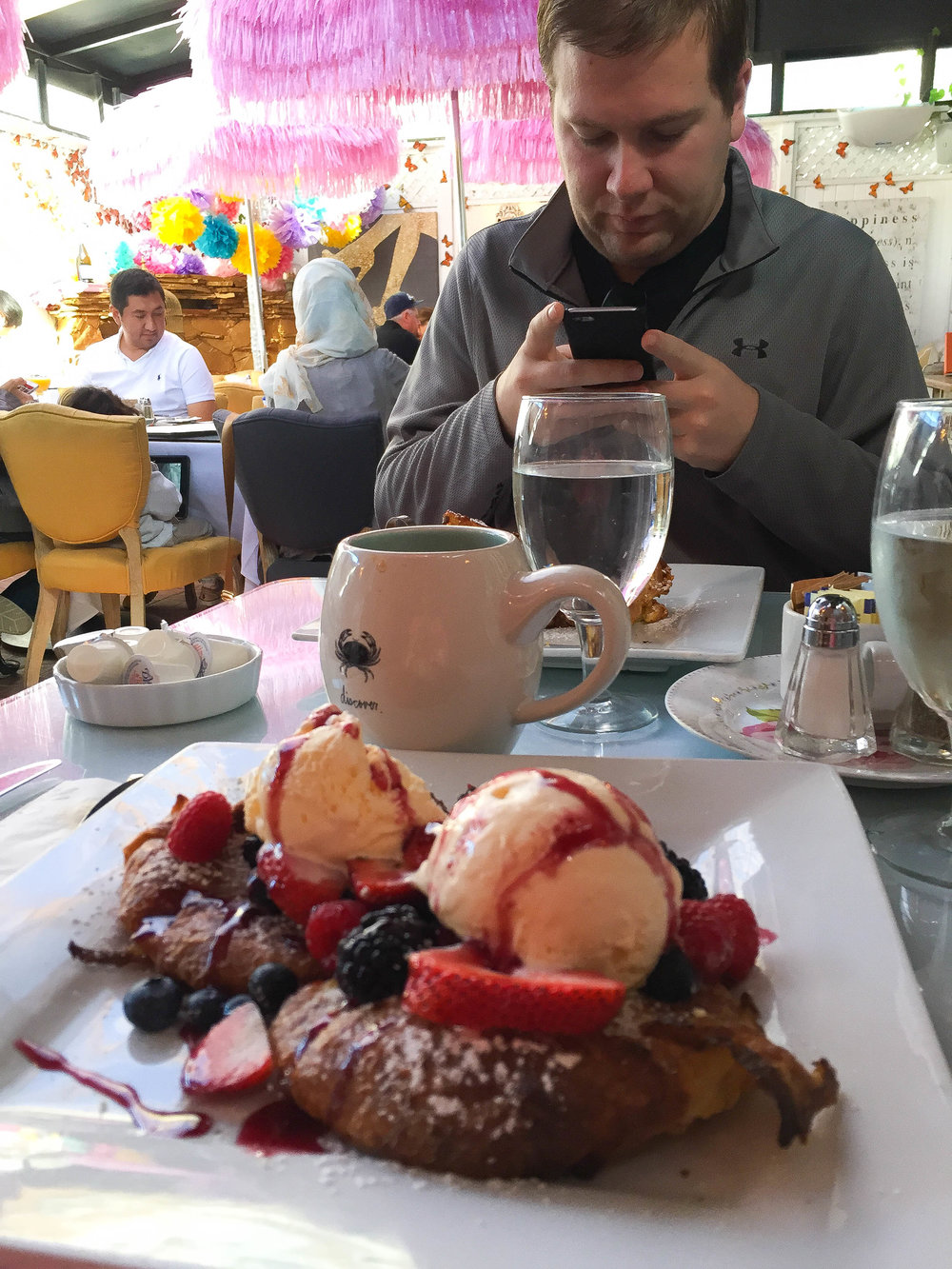 Polar Bear French Toast at 26 Beach - Best Brunch in Los Angeles