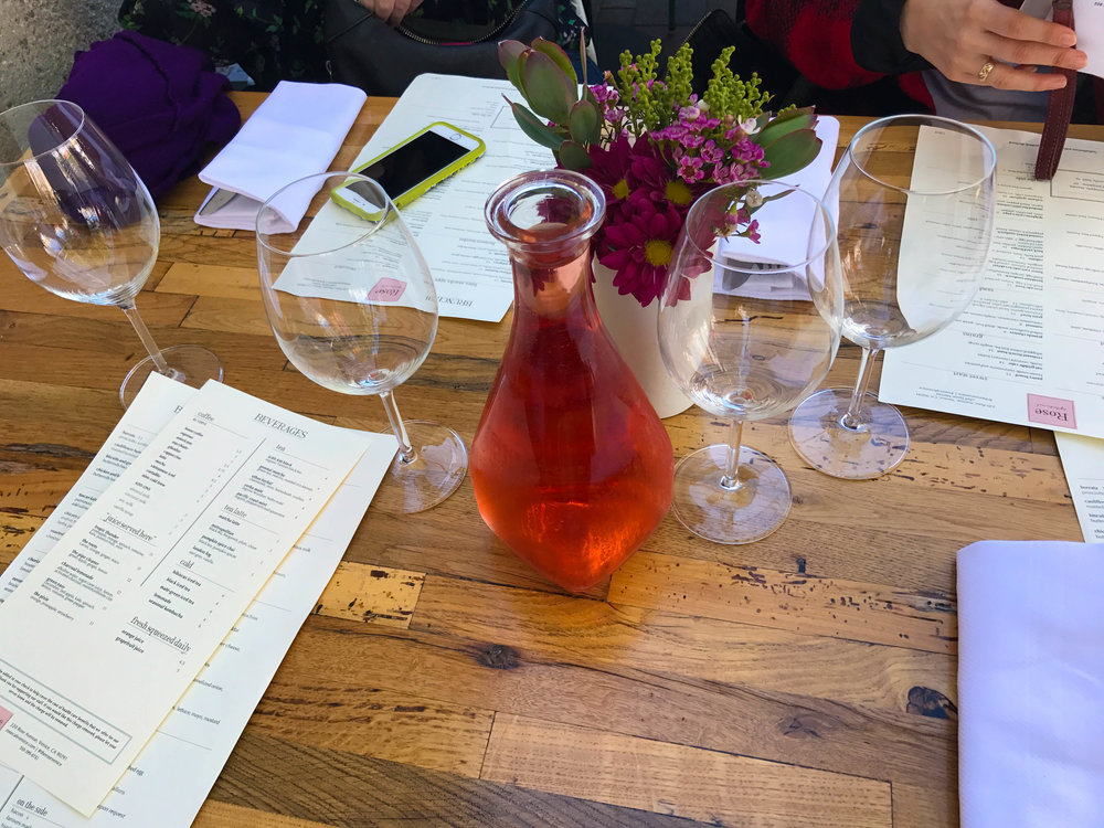 Best Brunch Restaurant in Los Angeles - Rose Cafe Venice Rosé