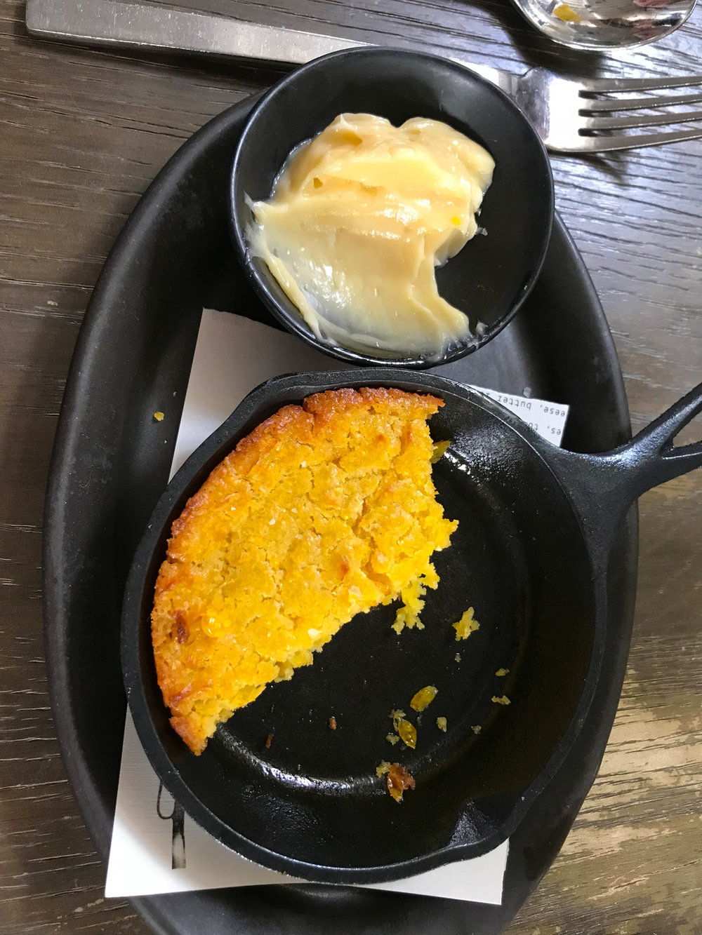 Norah Restaurant Brunch - cornbread | Best Brunch Restaurants in LA