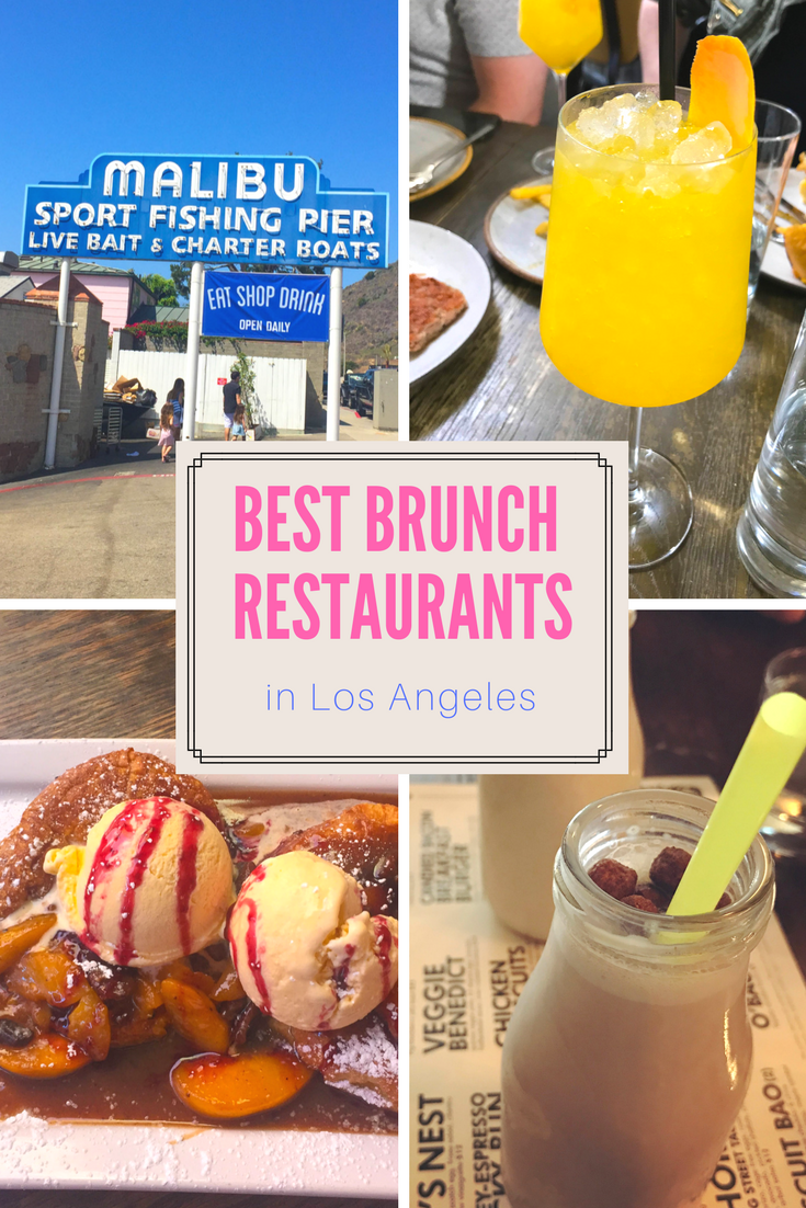 Best Brunch Restaurants in Los Angeles