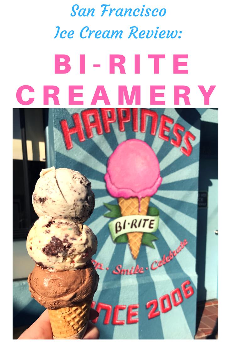 Ice Cream Review: Bi-Rite Creamery - San Francisco, California