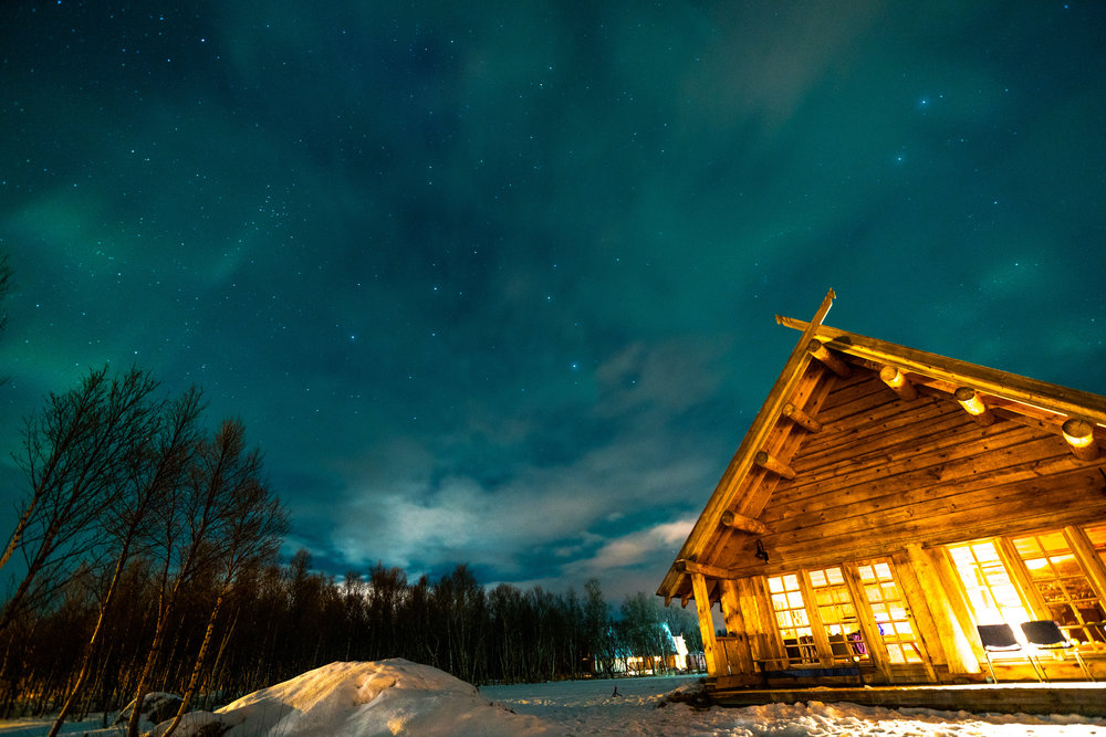 Norway Cabin - Northern Lights