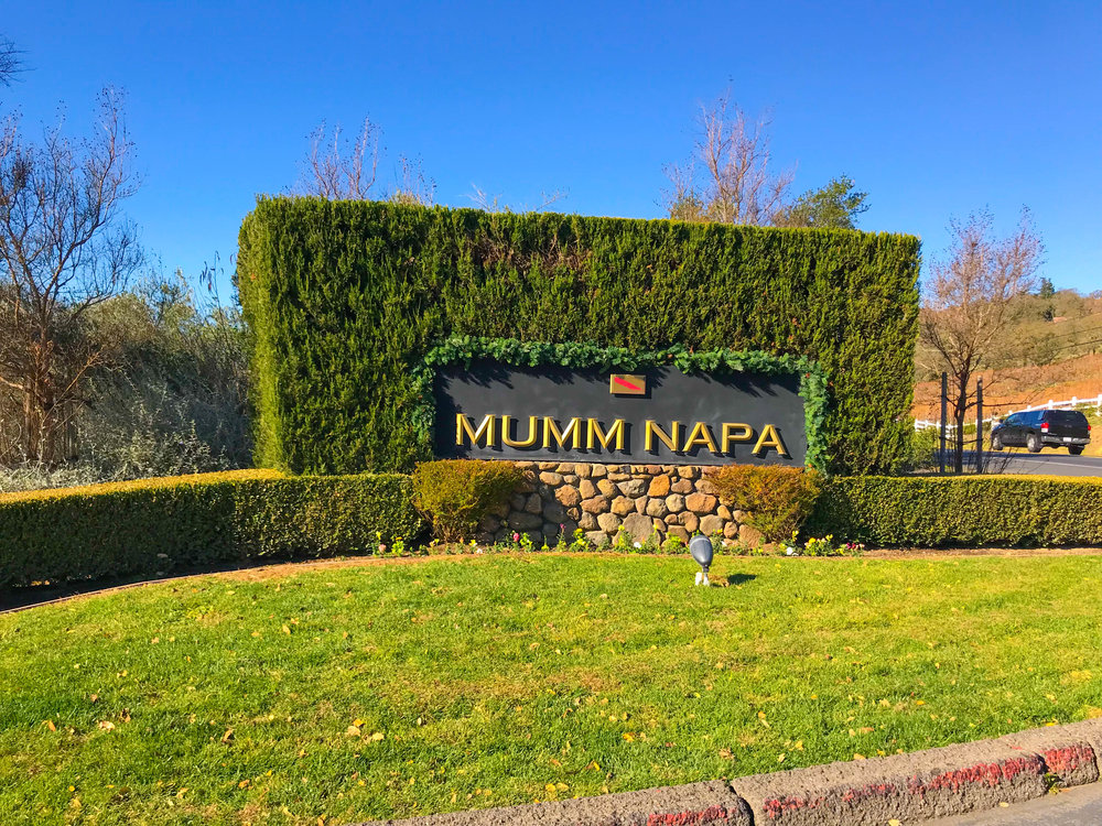 Best Wineries in Napa - Mumm Napa