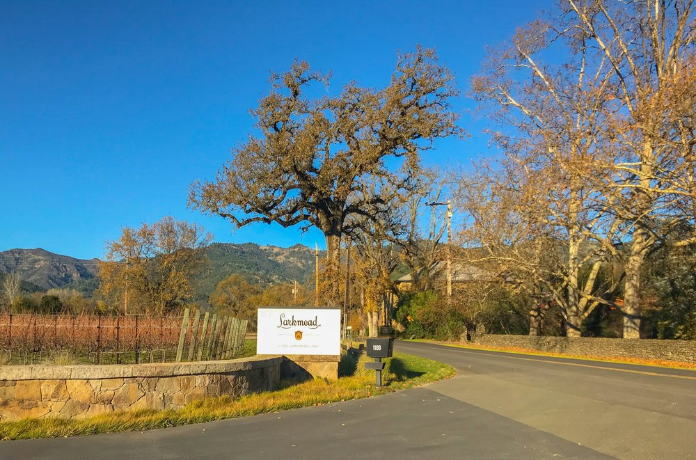 Best Wineries in Napa - Larkmead Winery Entrance