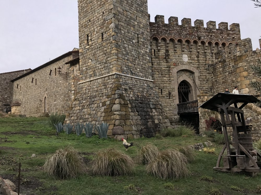 Best Wineries in Napa CA - Castello di Amorosa