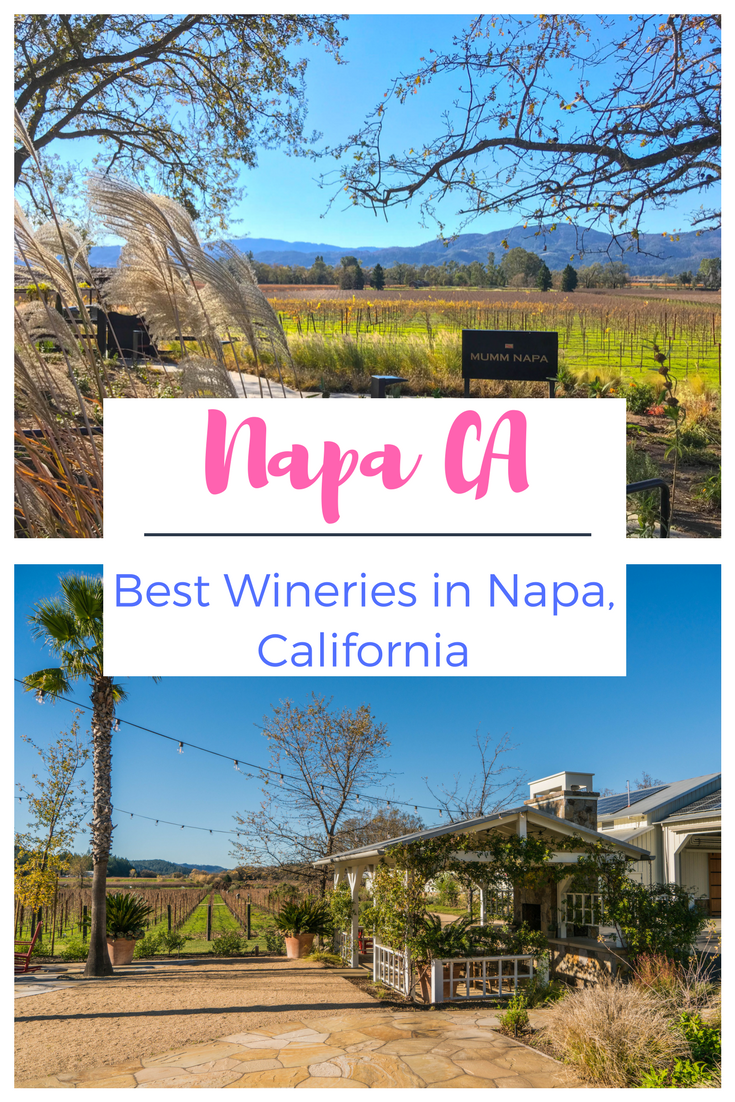 Best Wineries in Napa CA and best wine tasting!