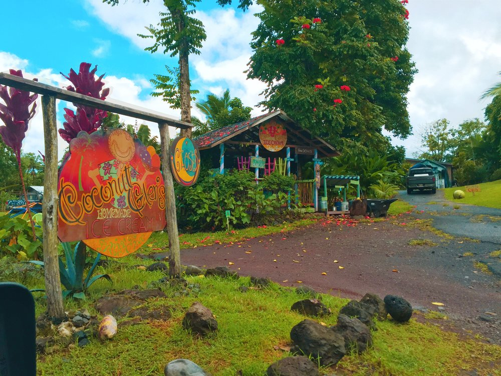 Coconut Glen's Homemade Ice Cream - Best place to stop on the Road to Hana