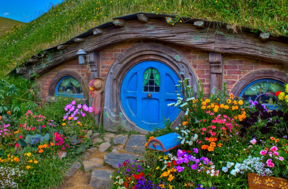 Lord of the Rings Hobbiton Movie Set - Best hobbit hole