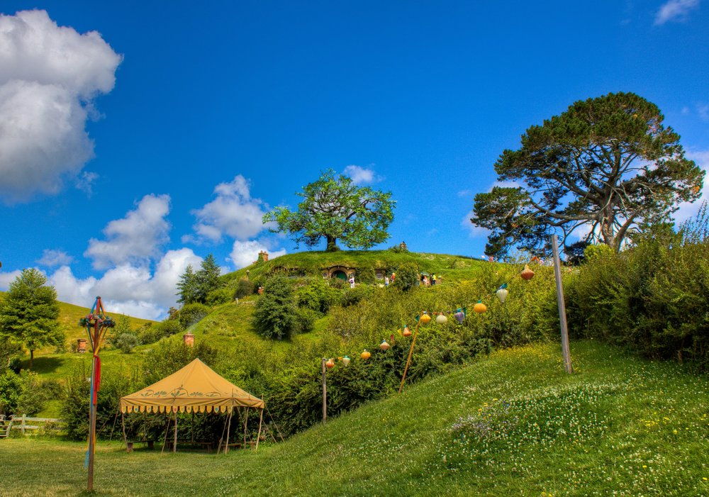 Hobbiton Movie Set - Party - Auckland, New Zealand