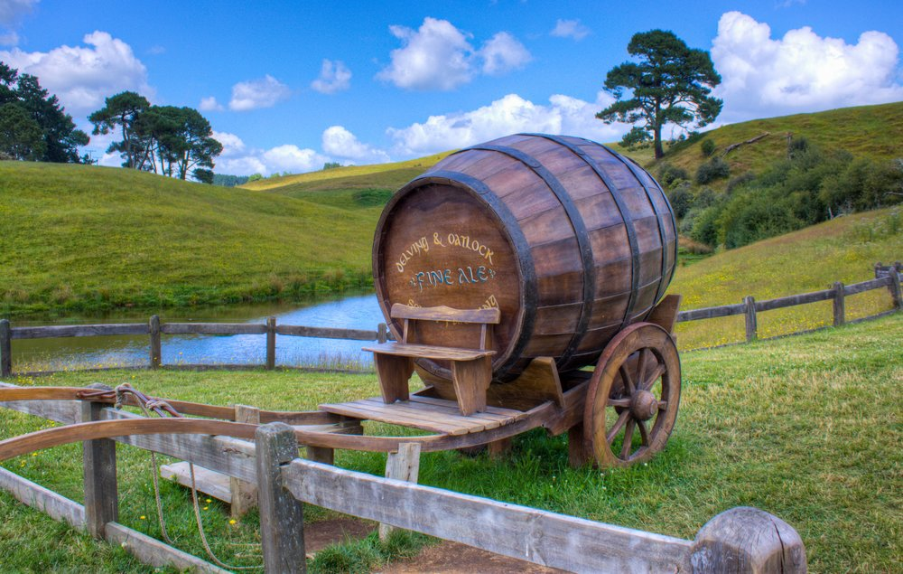Lord of the Rings Hobbiton Movie Set - New Zealand