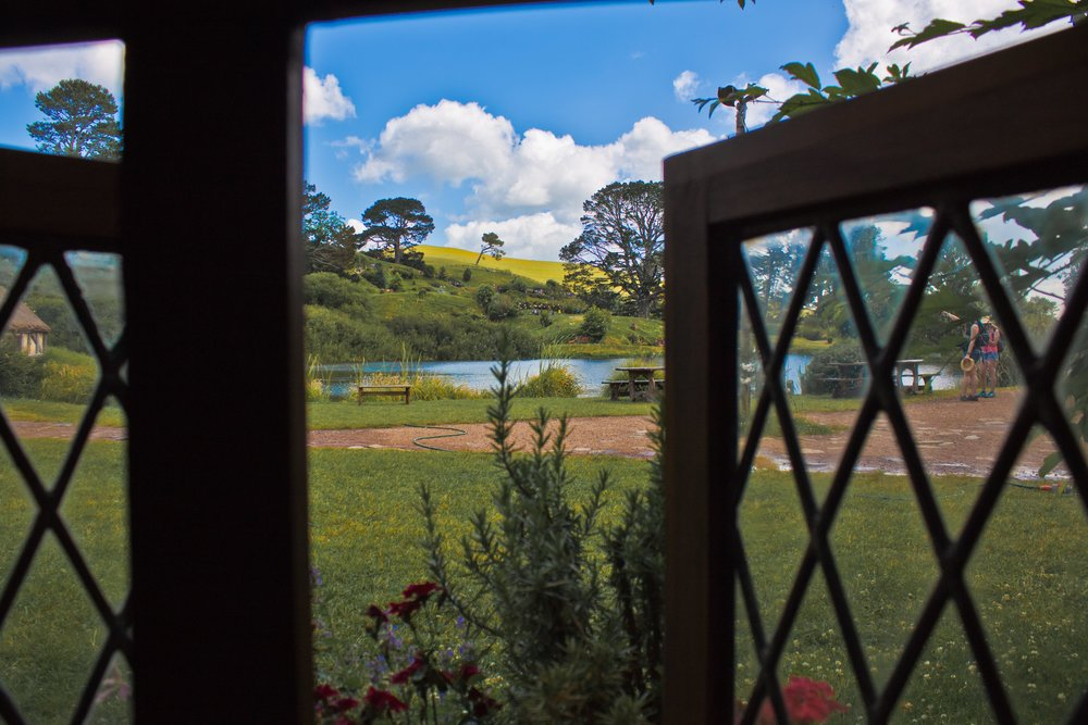 Picture perfect Views from Hobbiton Green Dragon Inn